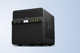 Synology DiskStation DS416j, NAS Soho quad-bay