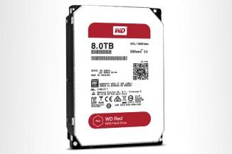 WD, nuovi drive della gamma RED da 8 TByte con tecnologia HelioSeal