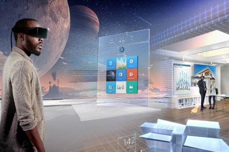 """Computex, Windows Holographic e la """"mixed reality"""" di Microsoft"""
