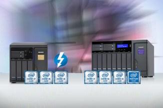 QNAP TVS-x82 e TVS-x82T Thunderbolt 2, NAS potenti la virtualizzazione