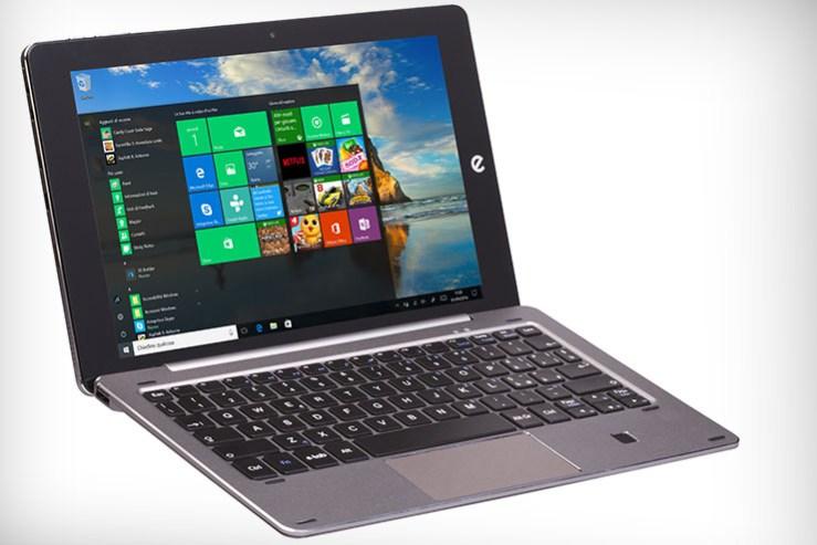 Microtech e-tab Pro, mobilità smart con Windows 10, Android e Remix OS