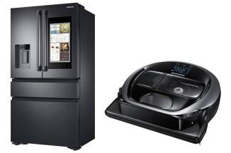 Samsung POWERbot VR7000 e Family Hub 2.0, elettrodomestici smart