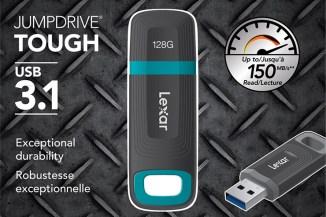 Lexar Tough JumpDrive, storage portatile USB 3.1 ultraresistente
