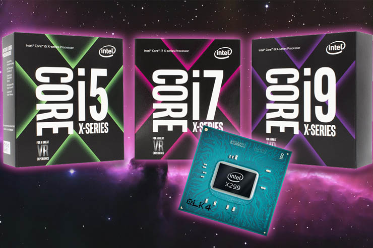 Intel Core serie X, CPU fino a 18 core per PC desktop