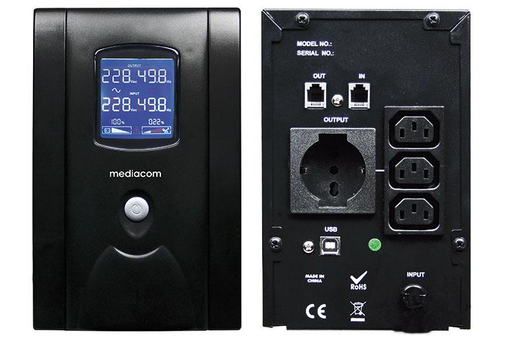 Mediacom Security System UPS, protezione top contro i black-out