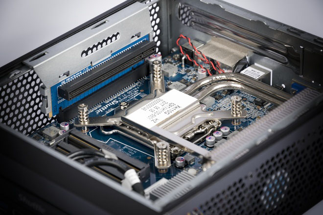 Shuttle XH110G, miniPC da tre litri con slot PCIe x16 3.0