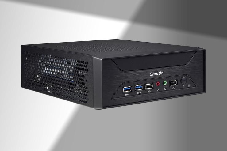 Shuttle XH110G, potente mini PC con slot PCI-Express-x16-3.0