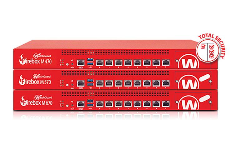 WatchGuard Firebox M, security ultra-veloce per la crittografia