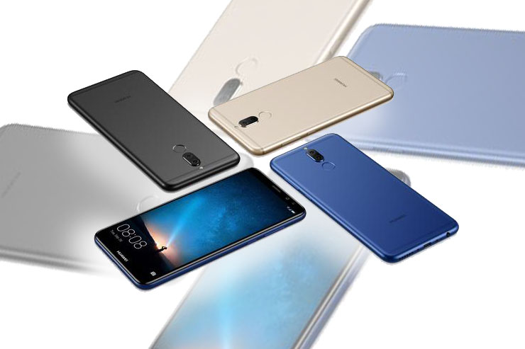 Huawei Mate 10 lite, smartphone con quattro fotocamere