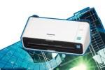 Panasonic serie KV-S1037, scanner compatti e veloci