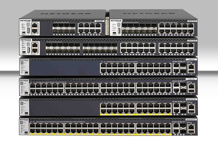 Netgear M4300-96X, lo switch modulare SDVoE-ready