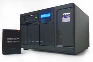 Tandberg RDX QuikStor e NAS QNAP, integrazione completa