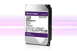 WD Purple 12 TByte, l'AI migliora la videosorveglianza