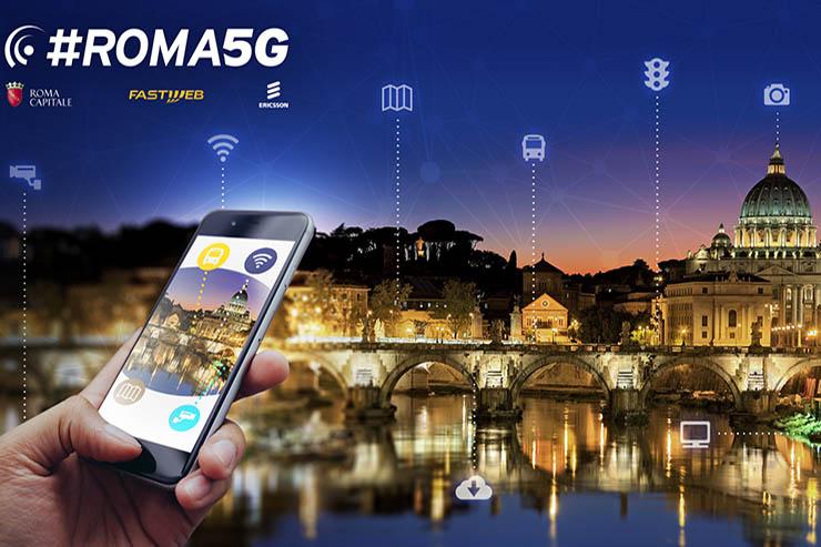 5G a Roma, Atac è partner assieme a Fastweb ed Ericsson