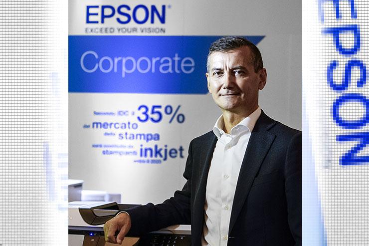 Epson, Luca Motta è il nuovo Value Channel Sales Manager