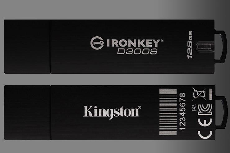 Kingston, nuove funzionalità per IronKey D300