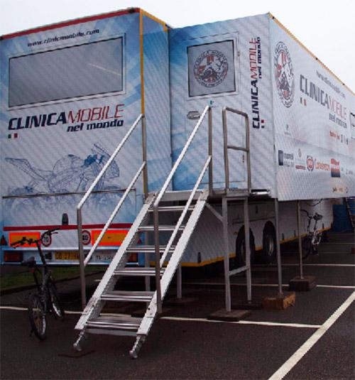 MotoGP e SuperBike, il Wi-Fi Netgear per la Clinica Mobile