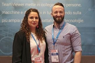 TeamViewer a Smau, intervista Elisabetta Fidani e Giovanni Beneforti