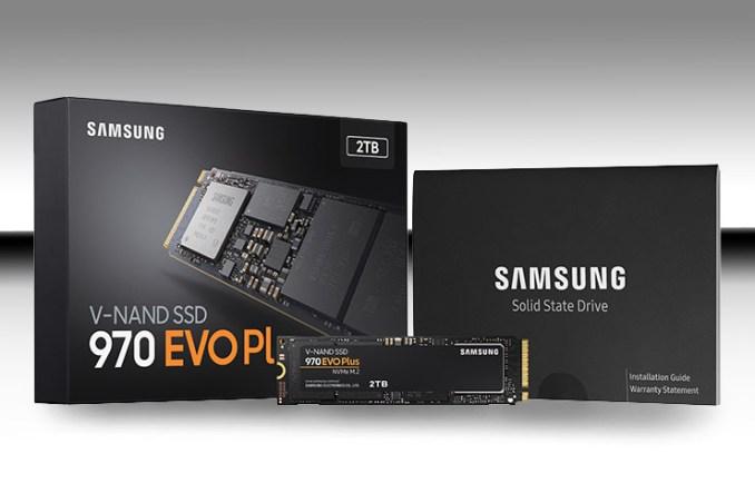 Samsung SSD 970 EVO Plus, performance al top