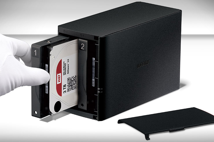 Buffalo LinkStation 220DR, storage affidabile con drive WD Red