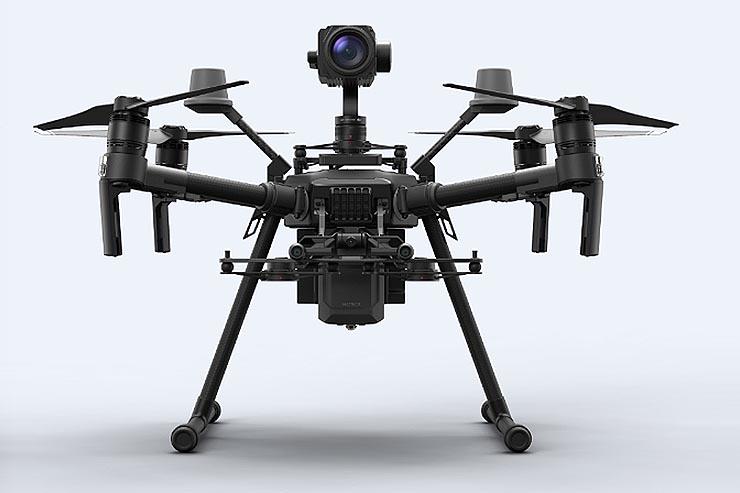 Attiva recapita a Rina il primo drone di DJI Enterprise