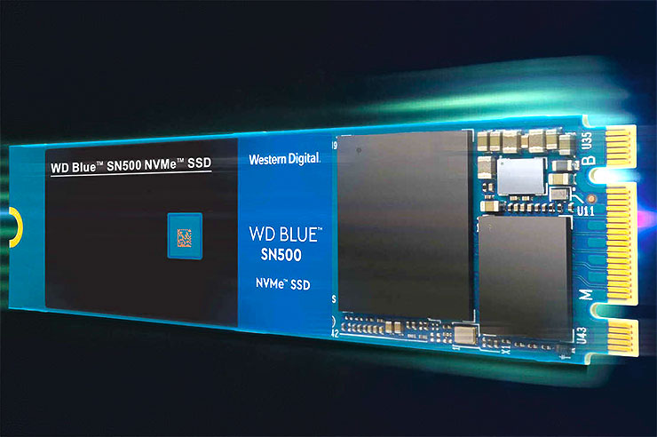 Western Digital, WD BLUE SSD ora disponibile anche in NVMe