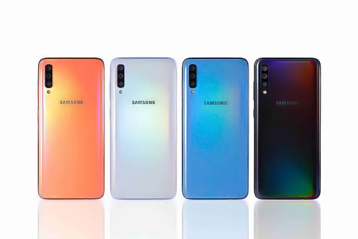 Samsung, presentata la nuova gamma di smartphone Galaxy A
