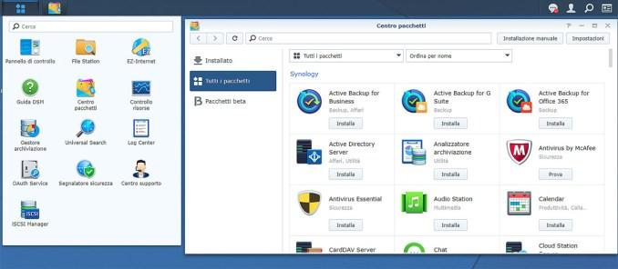 Synology DS2419+, NAS desktop ad elevata capacità