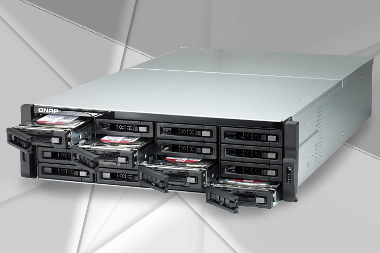QNAP TDS-16489U R2, storage enterprise con supporto QES