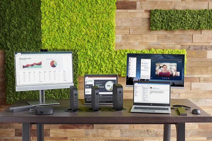 HP t740 e t640, thin client con potenza da vendere