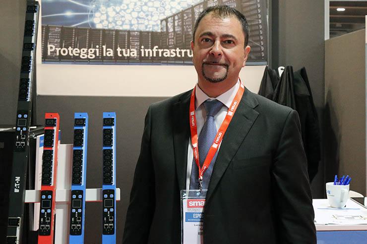 Eaton a SMAU Milano, intervista a Luciano Livrani