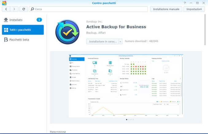 Synology smart working