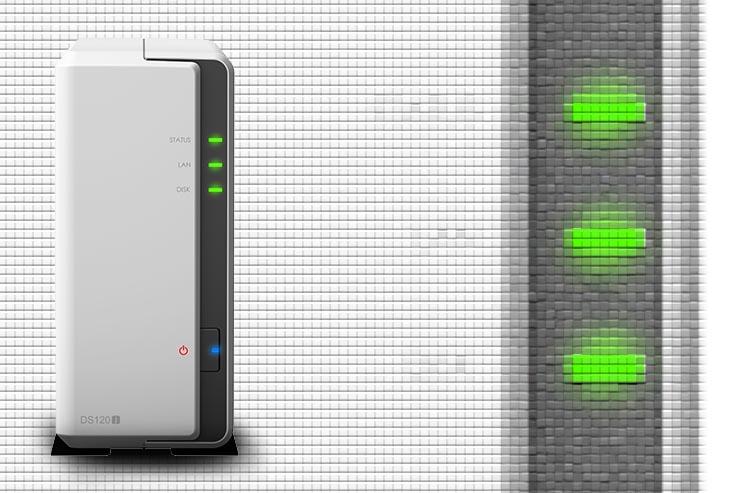 Synology DS120j, backup facile ed economico per l'end-user