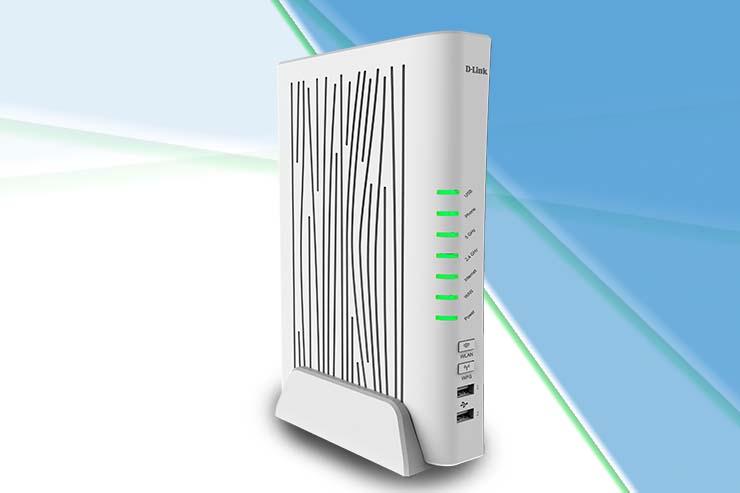 D-Link presenta l'innovativo modem router VoIP DVA-5593
