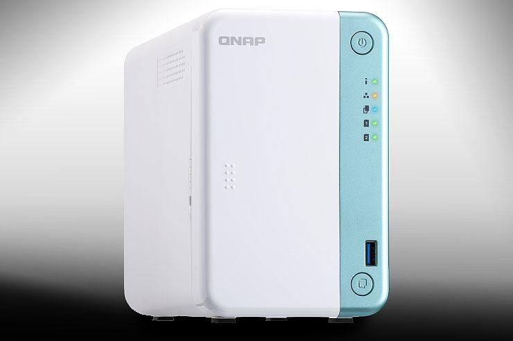 QNAP TS-251D, NAS compatto con espandibilità PCI Express