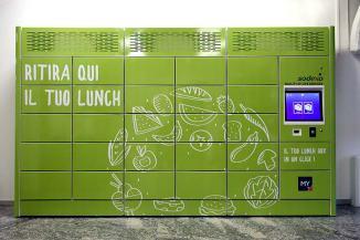 Ricoh con gli Smart Locker cambia la pausa pranzo a Sodexo