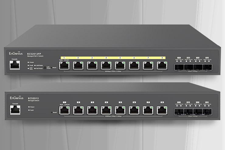 EnGenius, gli switch Multi-Gig per una rete più veloce