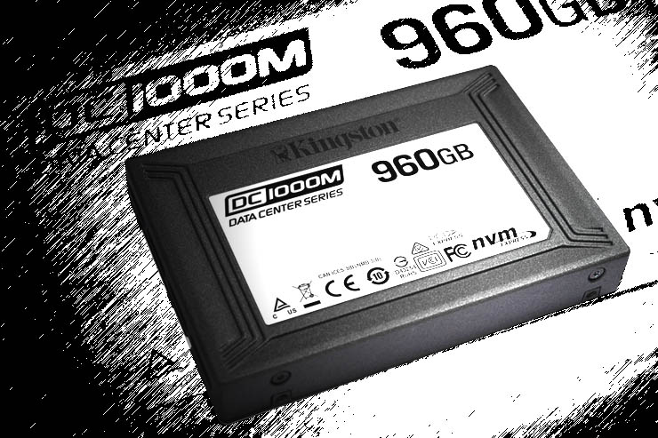 Kingston: ecco l'SSD aziendale DC1000M per data center NVMe