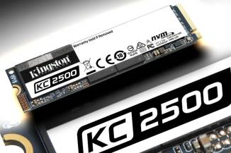 Kingston KC2500, PCI Express x4 Gen 3.0 e memoria TLC 3D