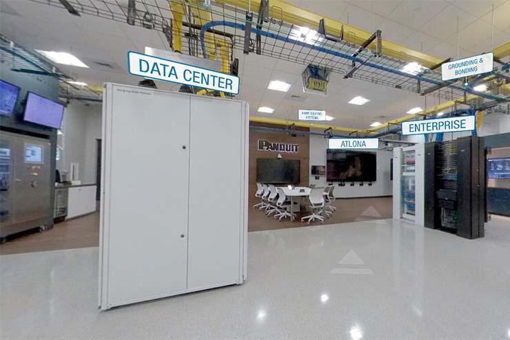 Interattivo e virtuale. Arriva il Panduit Experience Center