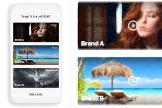 Video advertising interattivo