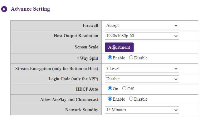 Firewall Setup
