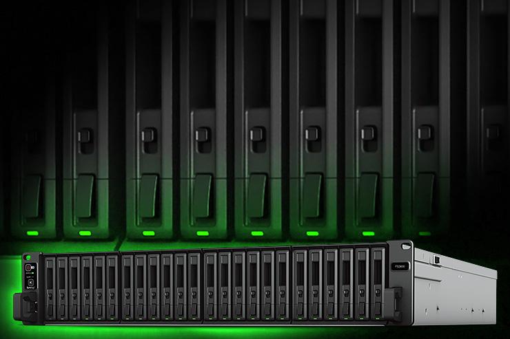 Storage server all-flash