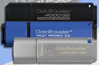 Nuova capacità per i drive flash USB crittografati