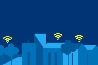 Copertura Wi-Fi gratuita negli spazi comunali