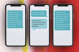 SMS per lavoro