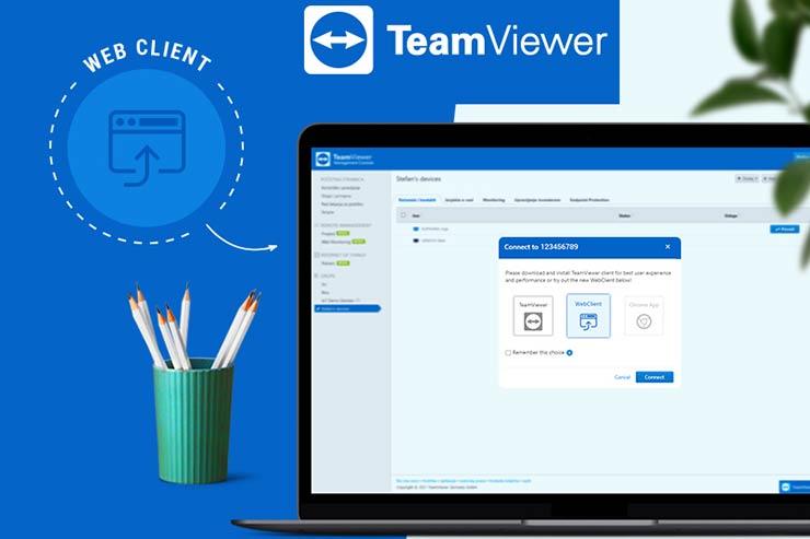 TeamViewer Web Client