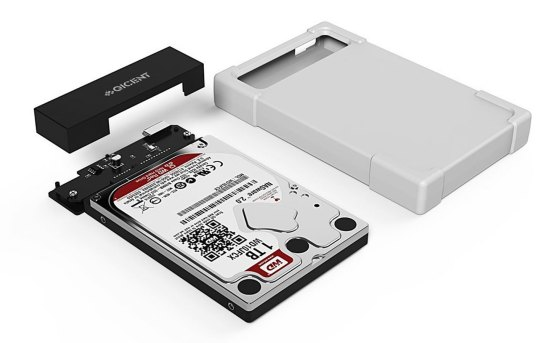 QICENT external silicone hdd enclosure