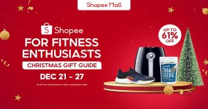 Shopee philippines | Encourage Your Loved Ones to Achieve Their Fitness Goals for the New Year!