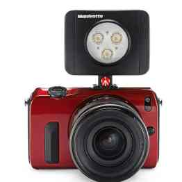camera led manfrotto